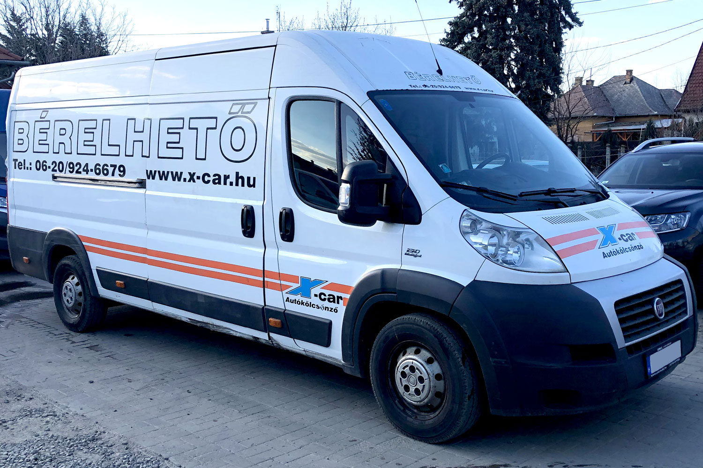 FIAT DUCATO zárt tehergépkocsi